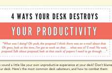 De-Cluttering Desk Infographics