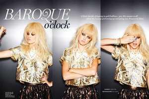 The Nina Van Bree Tom Corbett Editorial is Grungy Glamor