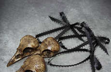 Animal Skull Ornaments - These Crow Skull Tree Ornaments Add Spooky Flavor to the Holidays