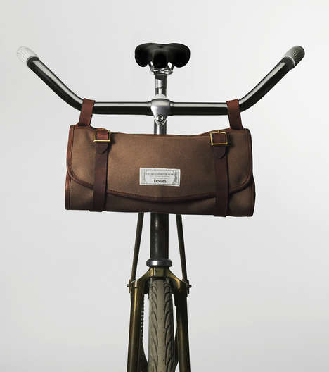 Manly Cosmetic Satchels - The Dewars X FSC Travel Bag is a Masculine Carry-On For Your Bike