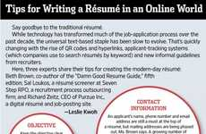 Online Resume Infographics - Here are Some Tips for Writing a Resume for a Social Media Internship