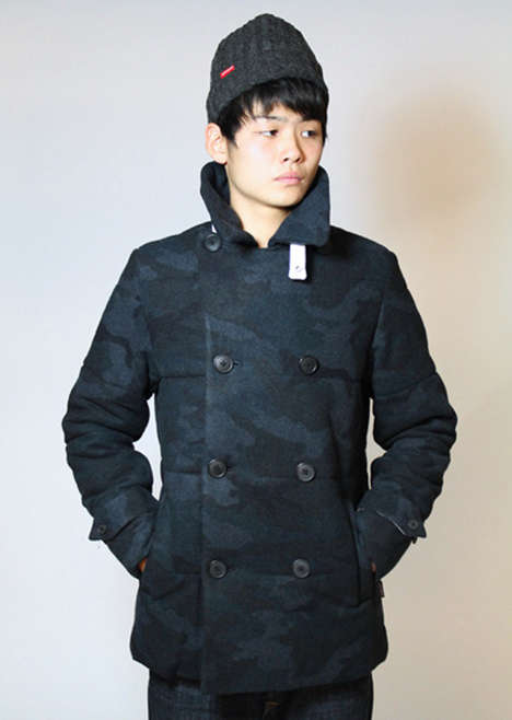 Melton Camo P-Coat