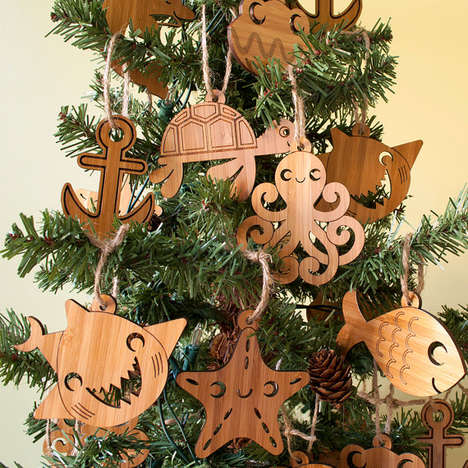 Sea Creature Ornaments