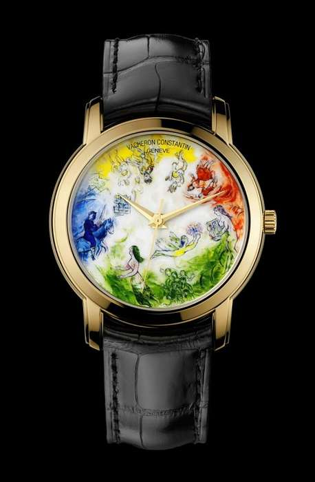 Miniature Opera Painting Watches - The Chagall et l'Opera de Paris Tribute is an Artistic Time