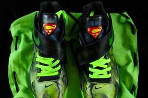 The District Customs Nike KD4 Kryptoman Will Destroy the Powerful Superman