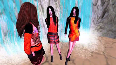 Proenza Schouler x Second Life
