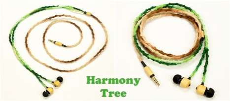 Natural Bamboo Headphone 