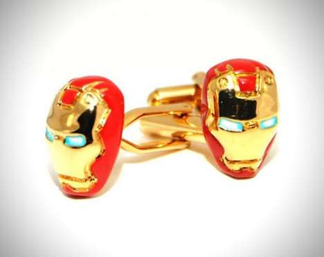 13 Comic Book Cuff Links - From Limited Edition Dark Knight Cuffs to Darth Vader Suit Accessories