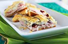 Baked Holiday Deli Pies - Enhance Your Thanksgiving Menu With a Turkey-Cran Appetizer Pizza