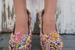 Dessert Shoes 'Bad Cake You Pumps' Makes Gals Look Delicious