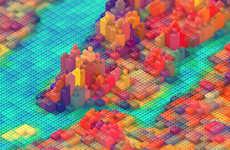 Toy Block Topography
