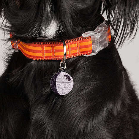 Death Star Pet ID Tag