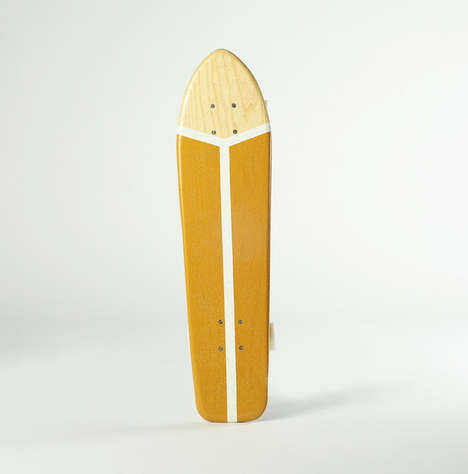 Vintage Handmade Decks - Atypical Transforms Old School Skateboards into Contemporary Rides
