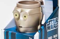 Sci-Fi Robot Cups