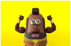 Celebrity Potato Heads