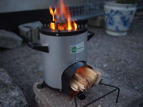 Safer Developing Country Cookers - The Greenway Smart Stove Generates Less Smoke and Uses Less Fuel