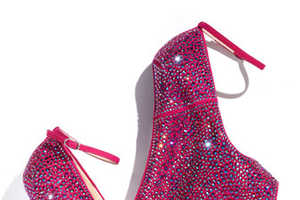 The Giuseppe Zanotti Crystal-Covered Wedge is Captivating