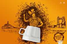 Coffee Bean Portrait Ads
