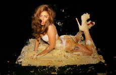 Lady Gaga 'Cake' by Terry Richardson Previews Her Rap