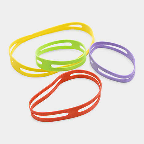 z-shaped rubber bands
