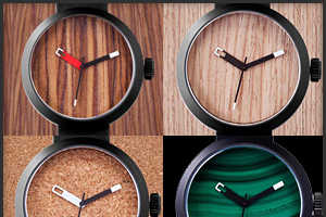 The Clomm Terra Firma Watches Maintain the Look of Natural Beauty