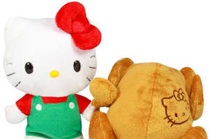 Hello Kitty Reversible Turkey is a Quirky Thanksgiving Toy