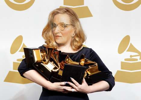 What if Adele was Mrs. Doubtfire Tumblr