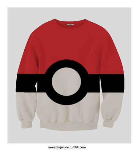 Pokemon Ball Jumpers  - The Pokemon Sweater is for Individuals Looking to Catch 'Em All