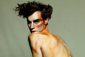 Egon Schiele Inspires the Hunger Magazine Wired Editorial