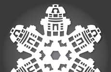 These Star Wars Snowflakes Add an Intergalactic Feel to Your Holiday Decor