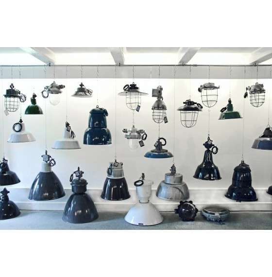 Retro Factory Lamps
