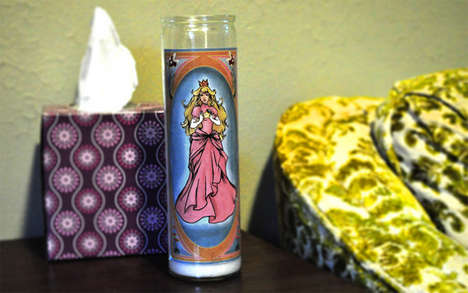 Geeky Devotional Candles
