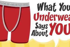 The Underwear Identity Infographic Assigns Traits by Style