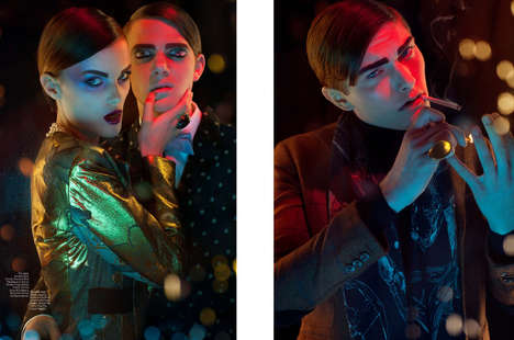 Lush Magazine Editorial 
