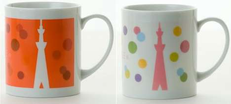 tokyo sky tree mug