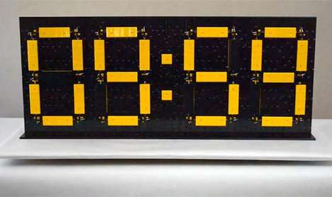 building block clock