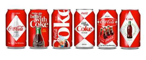coke cans and bottles
