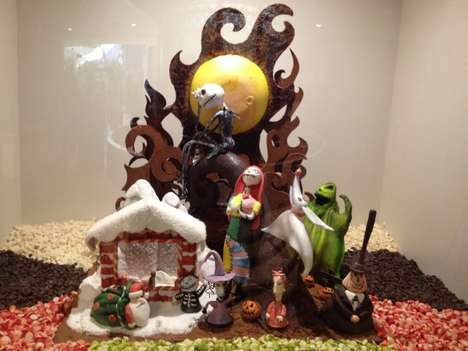 Disney Chocolate Dioramas 