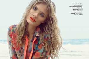 Constance Jablonski Looks Beach-Ready in Vogue Brazil November 2012