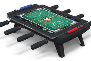 The Foosball iPad Table Recreates the Classic Game Perfectly