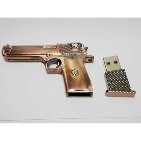 Gun Shaped Flash Drive