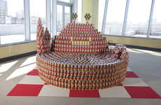 Food Sculpture Charity Projects