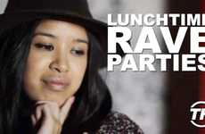 Lunchtime Rave Parties  - Armida Ascano Discusses the Craze of Raving During Lunch Breaks in Sweden