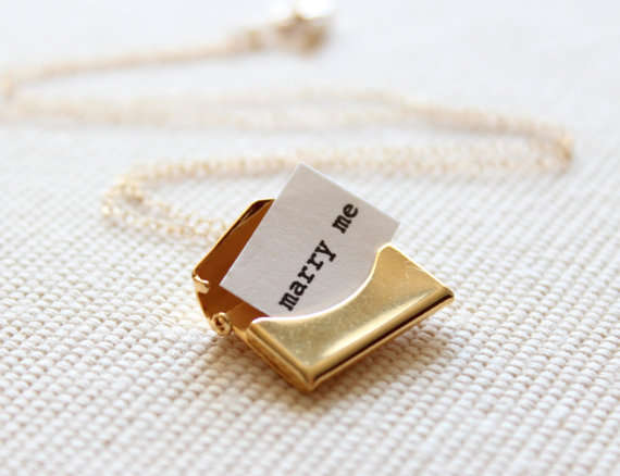 Marriage Proposal Necklaces
