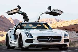The SLS AMG Black Series is a Study in Style and Power