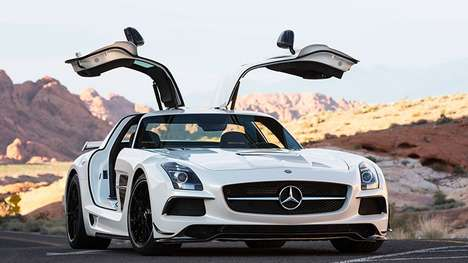 Stylish Sport Supercars - The SLS AMG Black Series is a Study in Style and Power