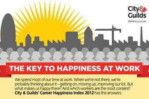 The Career Happiness Infographic Lists the Best Jobs and Why