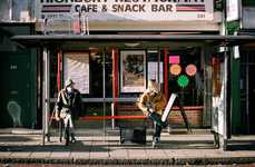 Public Waiting Photography - The Richard Hooker Bus Stop Project Shows Variances of People