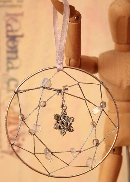 Dreamcatcher Christmas Ornament