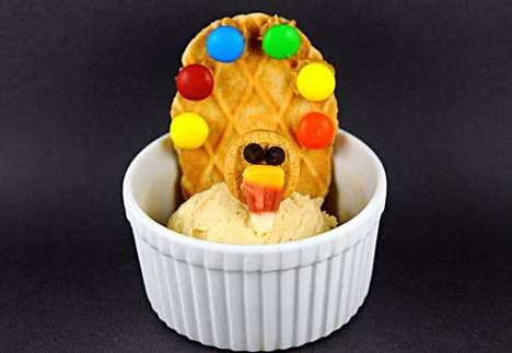 Peanut Butter Turkey Sundaes
